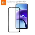 小米 紅米Note 9T(5G) 滿版彩色全屏鋼化玻璃膜 全覆蓋鋼化膜 螢幕保護貼 防刮防爆