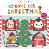 Little Friends:Home For Christmas 一起過聖誕節 硬頁翻翻操作書(英國版)