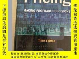 二手書博民逛書店Pricing:罕見Making Profitable Deci
