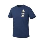 ADIDAS 男足球短袖T恤(純棉 亞規 休閒 上衣 法國 慢跑 愛迪達≡體院≡ FK3574