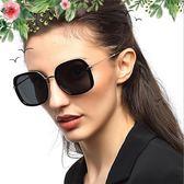 太陽眼鏡 經典女士太陽鏡潮偏光鏡戶外方框墨鏡 台北日光