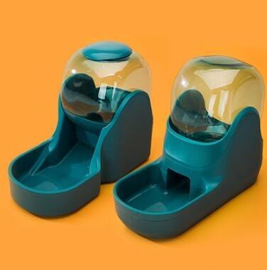 寵物餵食器 自動飲水器喂食器喝水器掛式流動神器泰迪飲水機貓咪寵物用品【快速出貨八折鉅惠】