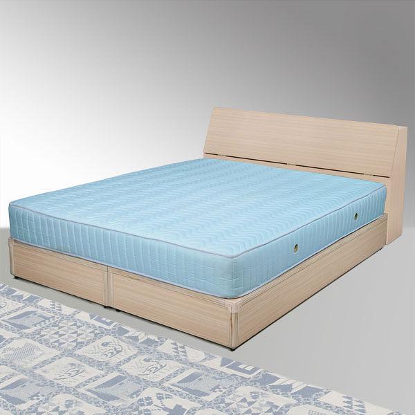 YoStyle 諾雅5尺雙人床組(床頭箱+床底) (二色任選)  專人配送