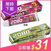 韓國 2080 強齒建齦兒童牙膏(80g) 蘋果/草莓【小三美日】$39