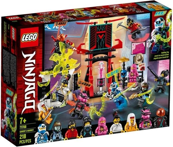 樂高 LEGO NINJAGO 旋風忍者 Gamer's Market 玩家市集 71708 TOYeGO 玩具e哥
