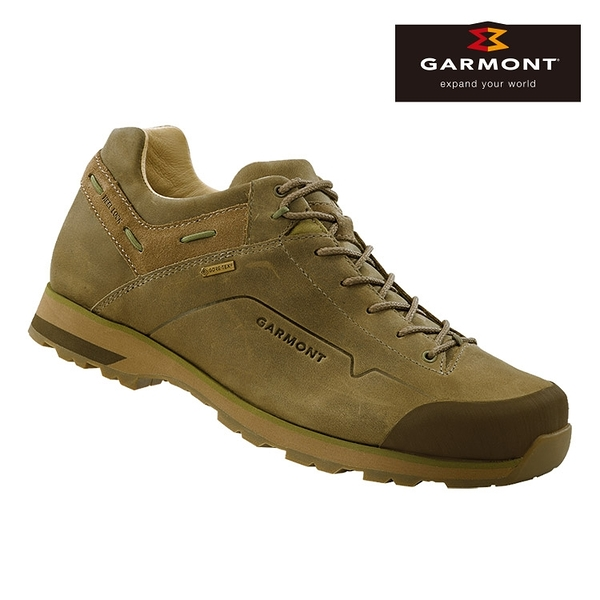 GARMONT 男款Gore-Tex低筒休閒旅遊鞋Miguasha Low Nubuck GTX 481243/218 / 城市綠洲 (防水透氣、健行)