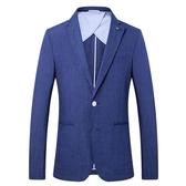 米蘭 天然透氣亞麻面料男裝外貿尾單休閒西服男士西裝男外套