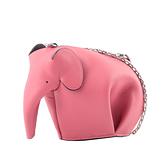 【LOEWE】經典小牛皮小象造型迷你包(糖果粉) C623R02.X01 6520
