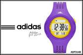 【時間道】[adidas。錶]三線圓黑面電子腕錶 – 紫(小) (ADP3148)免運費
