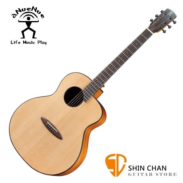 aNueNue L12 羽毛鳥 41吋吉他 雲杉面板/桃花心木側背板/琴頭鑲貝 (面單板)附多樣配件【鳥吉他】