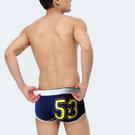 PlayBOY 3件丈青台灣製運動型男低腰織帶型動平口褲