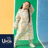 兒童大衣式風雨衣/3色 連身雨衣 背包雨衣 台灣製造 UPON雨衣