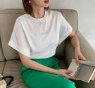 [預購+現貨]韓國-微寬袖素T(4色)-上衣-74201450 -pipima-53