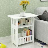 床頭櫃 床頭櫃現代簡約簡易儲物櫃臥室收納床邊櫃北歐客廳茶幾特價小方桌【美物居家館】