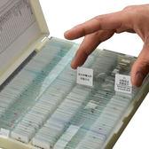 顯微鏡配件生物標本切片200片標本盒