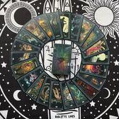 棱鏡塔羅牌 Prisma Visions Tarot鍍銀邊占卜牌    歐韓流行館