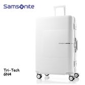 +好禮 Samsonite 新秀麗【TRI-TECH GN4】28吋鋁框行李箱 可拆隔板 抗震輪 智能扣鎖 附原廠託運套