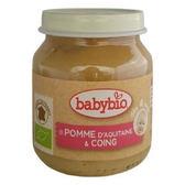 Babybio 有機蘋果莎梨鮮果泥130公克