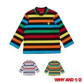 WHY AND 1/2 mini 羅紋彈性棉質T恤 1Y-4Y 多色可選