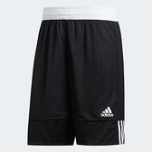 【現貨】ADIDAS 3G SPEED REVERSIBLE 男裝 短褲 籃球褲 排汗 雙面穿 黑 白【運動世界】DX6386