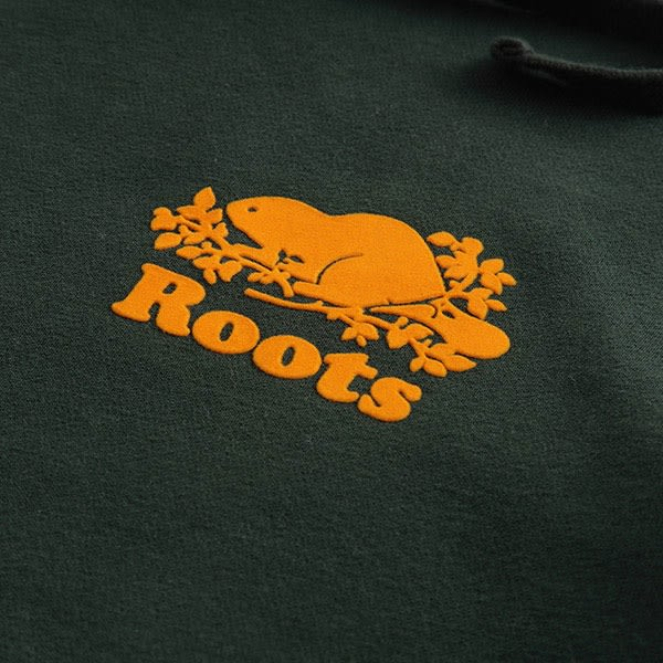 Roots-男裝-ROOTS 庫柏連帽上衣 - 綠色