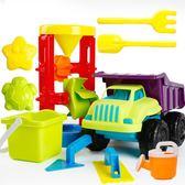 兒童沙灘玩具車套裝大號寶寶玩沙子挖沙漏鏟子工具決明子嬰兒玩具 森活雜貨