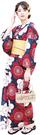 Nishiki【日本代購】和式浴衣+束腰帶2件套 女士成人用 - 梅花