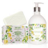 巴黎乳油木 檸檬馬鞭草花園香氛液體皂500ml+檸檬馬鞭草手工皂200g
