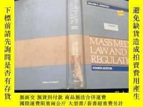 二手書博民逛書店Mass罕見Media Law and Regulation(英
