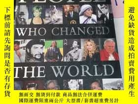 二手書博民逛書店People罕見who changed the worldY246305 見圖 見圖