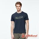 【wildland 荒野】男 彈性輕量印花排汗短袖圓領衫『夜空灰』0A91636 運動 露營 登山 吸濕 排汗 快乾