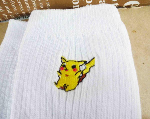【震撼精品百貨】神奇寶貝_Pokemon~白襪-皮卡丘