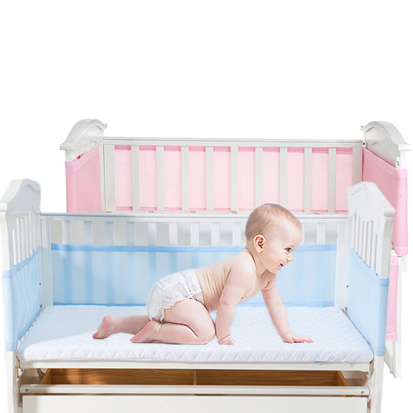 嬰兒床圍 透氣網眼布嬰兒床圍  Breathable 寶寶床護欄 JB1115 好娃娃