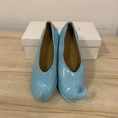 韓版平底百搭包鞋工作鞋娃娃鞋(22.5號/777-6538)