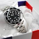 valentino coupeau 范倫鐵諾 夜光 不銹鋼 防水手錶 男錶 黑色面盤 潛水錶 黑水鬼 石英錶 V61589框黑黑