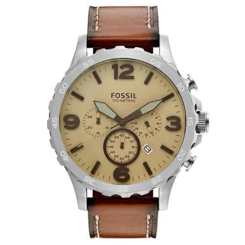 【Wowlook】Fossil Men\'\'s JR1503 三眼計時腕錶 男錶