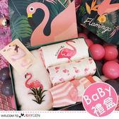 夏季寶寶火烈鳥系列公主哈裙10件/組 彌月禮盒