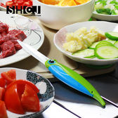 【SHCJ生活采家】戶外野營創意折疊料理陶瓷刀#48001