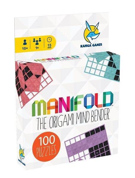 『高雄龐奇桌遊』 黑白摺學 Manifold 繁體中文版 單人桌遊 正版桌上遊戲專賣店