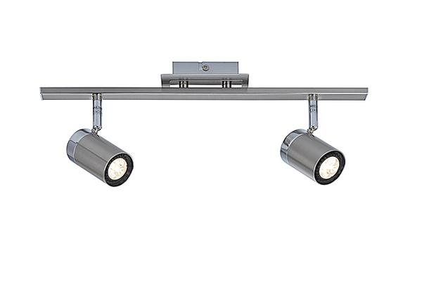 【燈王的店】設計師嚴選 LED 5W 吸壁兩用投射燈2燈 (角度可上下左右調整)  ☆ MX7070A-02/I102