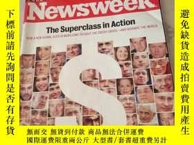 二手書博民逛書店Newsweek罕見SUBSCRIPTION COPYY2171