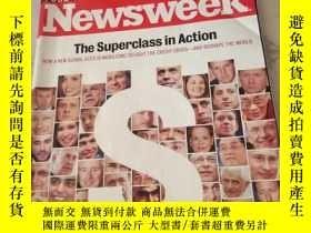二手書博民逛書店Newsweek罕見SUBSCRIPTION COPYY2171