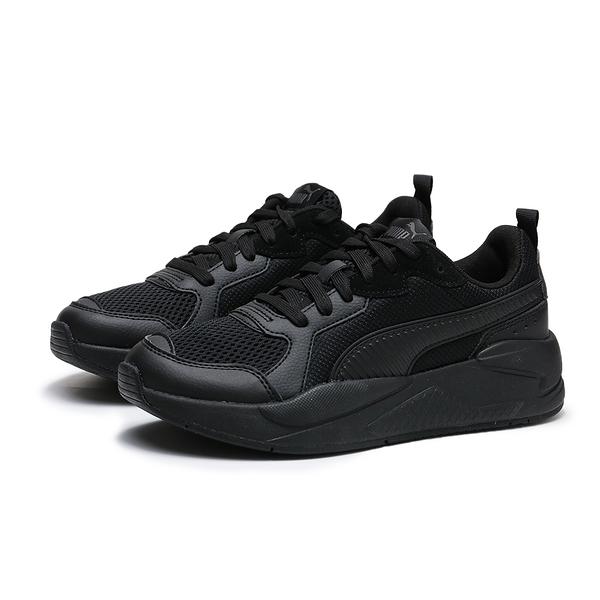 PUMA X RAY 全黑 皮革 網布 復古 休閒鞋 情侶 男女 (布魯克林) 37260201