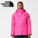 【The North Face 女款 兩件式化纖外套《粉》】364979M/戶外運動/防風透氣