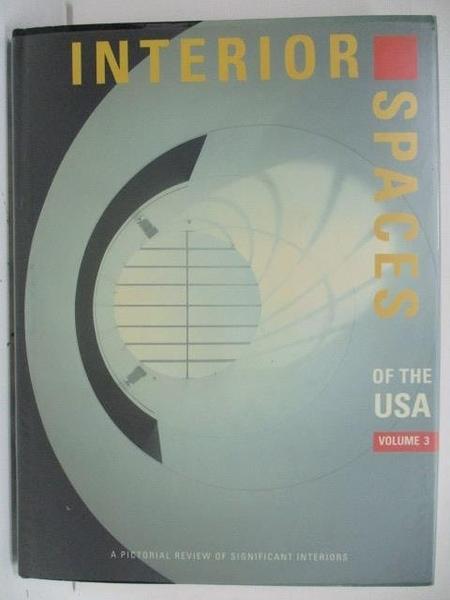 【書寶二手書T8/設計_DQZ】Interior Spaces of the USA