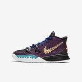 Nike Kyrie 7 Cny (gs) [CW3239-001] 大童鞋 女 運動 休閒 籃球 包覆 貼合 舒適 黑