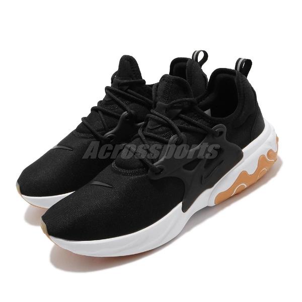 【五折特賣】Nike 休閒鞋 React Presto 黑 白 男鞋 女鞋 膠底 運動鞋 【ACS】 AV2605-007