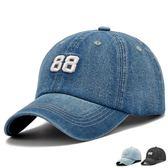 男士時尚牛仔棒球帽春秋韓版潮遮陽防曬鴨舌帽夏季戶外運動帽子女