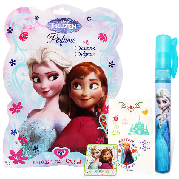 Disney Frozen 冰雪奇緣香氛驚喜包 (淡香水9.5ml+書籤+紋身貼紙)