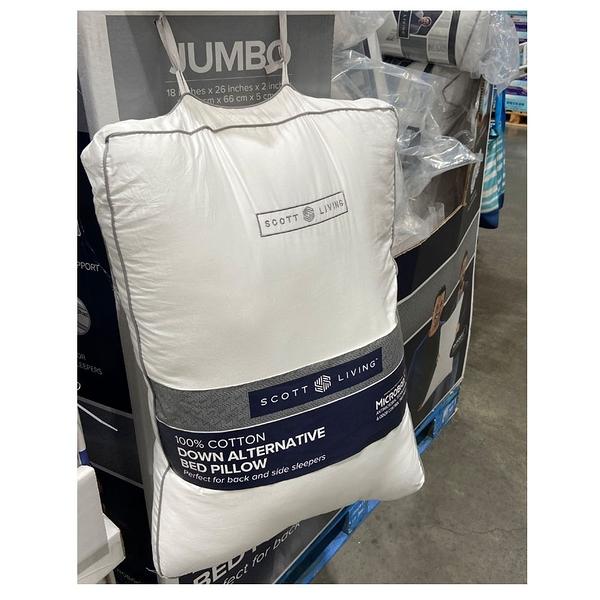 [COSCO代購] C7100475 SCOTT LIVING BED PILLOW 舒適枕2入 尺寸:45X66公分